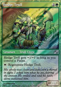 Hedge Troll - Prerelease