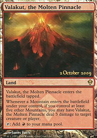 Valakut, the Molten Pinnacle - Prerelease