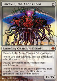 Emrakul, the Aeons Torn - Prerelease