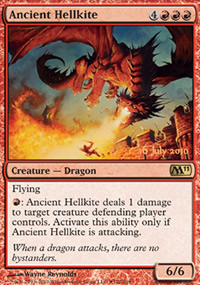 Ancient Hellkite - Prerelease Promos