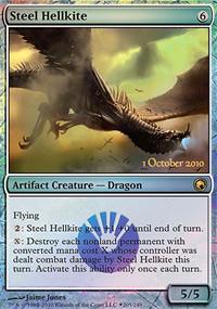 Steel Hellkite - Prerelease Promos