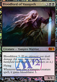 Bloodlord of Vaasgoth - Prerelease
