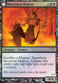 Ravenous Demon - Prerelease Promos