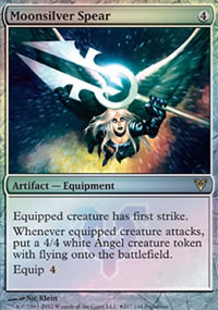 Moonsilver Spear - Prerelease Promos