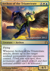 Archon of the Triumvirate - Prerelease Promos