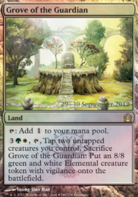 Grove of the Guardian - Prerelease Promos