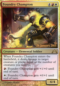 Foundry Champion - Prerelease Promos
