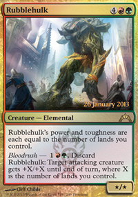 Rubblehulk - Prerelease