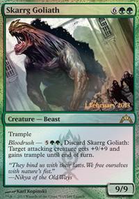 Skarrg Goliath - Prerelease Promos