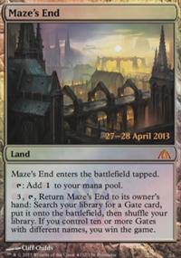 Maze's End - Prerelease Promos