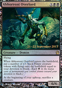 Abhorrent Overlord - Prerelease Promos