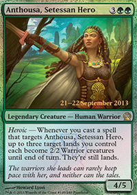 Anthousa, Setessan Hero - Prerelease Promos
