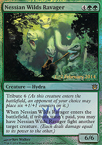 Nessian Wilds Ravager - Prerelease Promos