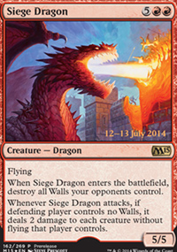 Siege Dragon - Prerelease