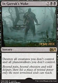 In Garruk's Wake - Prerelease