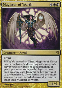 Magister of Worth - Prerelease Promos