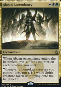 Abzan Ascendancy - Prerelease