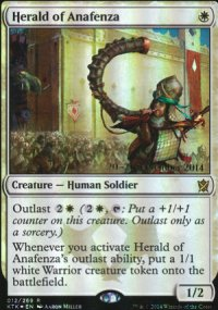 Herald of Anafenza - Prerelease