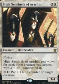 High Sentinels of Arashin - Prerelease