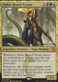 Sidisi, Brood Tyrant - Prerelease