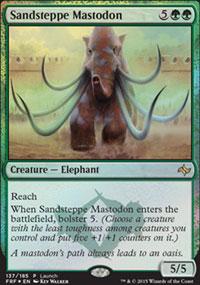 Sandsteppe Mastodon 1 - Prerelease Promos