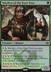 Warden of the First Tree - Prerelease