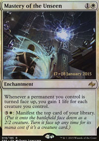 Mastery of the Unseen - Prerelease