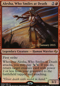 Alesha, Who Smiles at Death - Prerelease