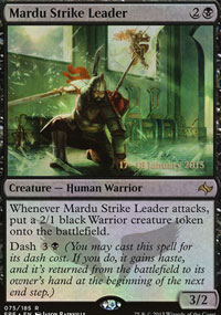 Mardu Strike Leader - Prerelease