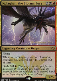 Kolaghan, the Storm's Fury - Prerelease
