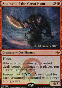 Shaman of the Great Hunt - Prerelease