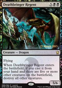Deathbringer Regent 1 - Prerelease Promos