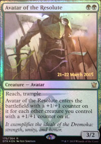 Avatar of the Resolute - Prerelease