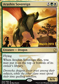 Arashin Sovereign - Prerelease