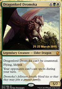 Dragonlord Dromoka - Prerelease Promos