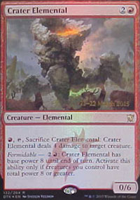 Crater Elemental - Prerelease