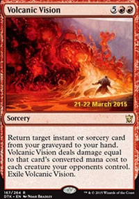 Volcanic Vision - Prerelease Promos
