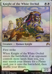 Knight of the White Orchid - Prerelease