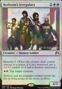 Kytheon's Irregulars - Prerelease