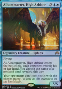 Alhammarret, High Arbiter - Prerelease