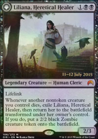 Liliana, Heretical Healer - Prerelease