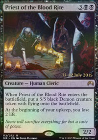 Priest of the Blood Rite - Prerelease
