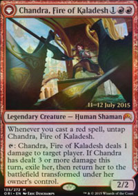 Chandra, Fire of Kaladesh - Prerelease