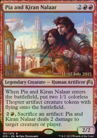 Pia and Kiran Nalaar - Prerelease