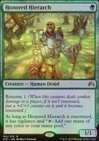 Honored Hierarch - Prerelease