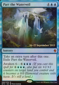 Part the Waterveil - Prerelease