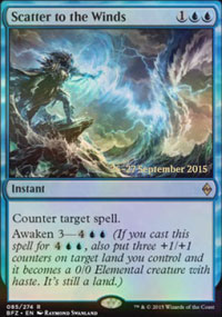 Scatter to the Winds - Prerelease