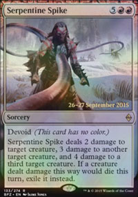 Serpentine Spike - Prerelease