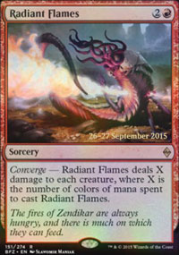 Radiant Flames - Prerelease