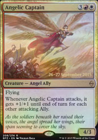 Angelic Captain - Prerelease